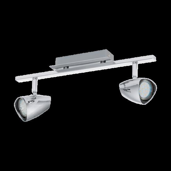 LED-es fali lámpa GU10 2x3W króm 39cm Corbera EGLO - 93673