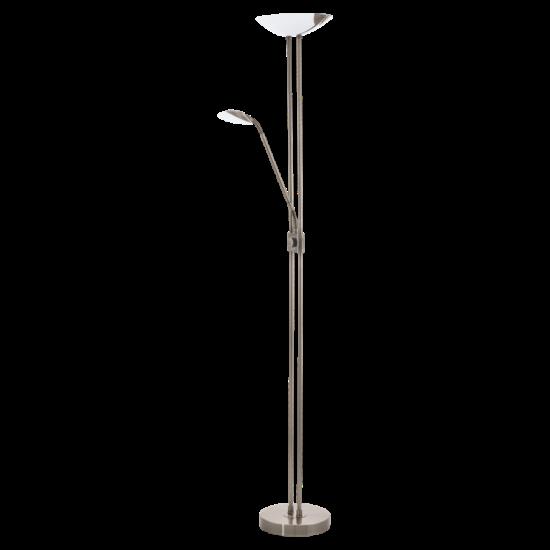 Led-es álló lámpa 20W/2,5W/2,5W olvasókarral m:180cm sz:36cm bronz BAYA LED EGLO - 93876