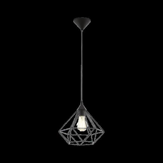 Függeszték E27 60W 32,5cm fekete Tarbes EGLO - 94188