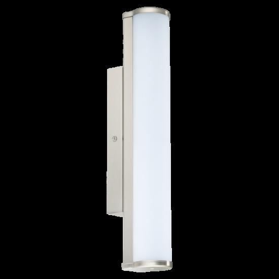 LED-es fali lámpa 8W 770 lm IP44 8,5x35 cm matt nikkel/üveg Calnova EGLO - 94715