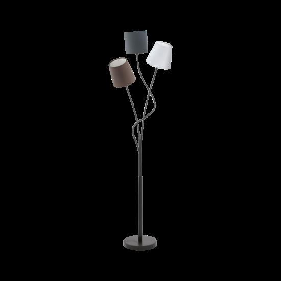 Állólámpa E14 3X40W IP20 fehér/antracit/barna - Maronda EGLO - 94995