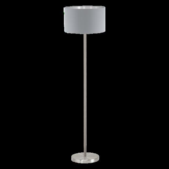 Állólámpa Textil E27 1X60W IP20 szürke - Maserlo EGLO - 95173