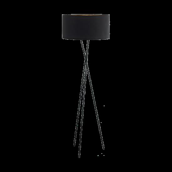 Állólámpa E27 1X60W fekete/vörösréz - Fondachelli EGLO - 95541