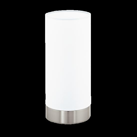 Asztali lámpa E27 1X60W IP20 króm/fehér - Damasco1 EGLO - 95776