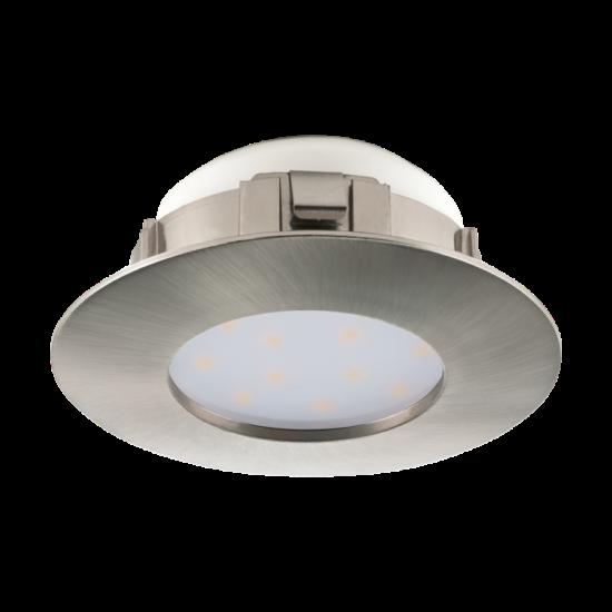 LED-es beépíthető lámpa Integrált Led 1X6W mattnikkel  PINEDA EGLO - 95819
