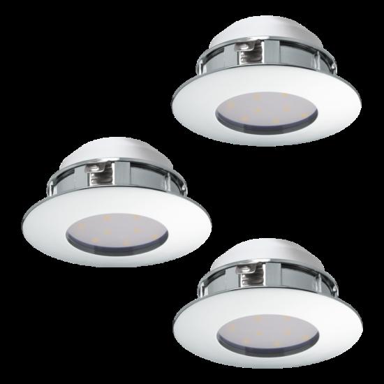 LED-es beépíthető lámpa Integrált Led 3X6W króm  PINEDA EGLO - 95822