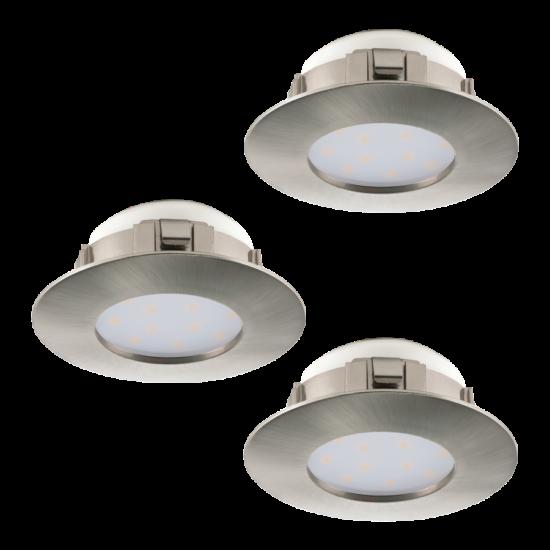 LED-es beépíthető lámpa Integrált Led 3X6W mattnikkel  PINEDA EGLO - 95823