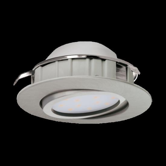 LED-es beépíthető lámpa Integrált Led 1X6W mattnikkel  PINEDA EGLO - 95856