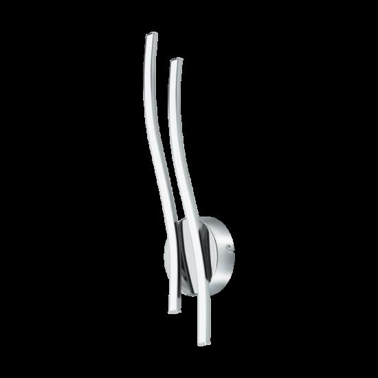 LED-es Falilámpa 2X5W alumínium króm VALMORA - Eglo - 96332