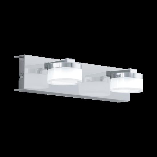 LED-es Falilámpa 2X7,2W acél króm ROMENDO 1 - Eglo - 96542