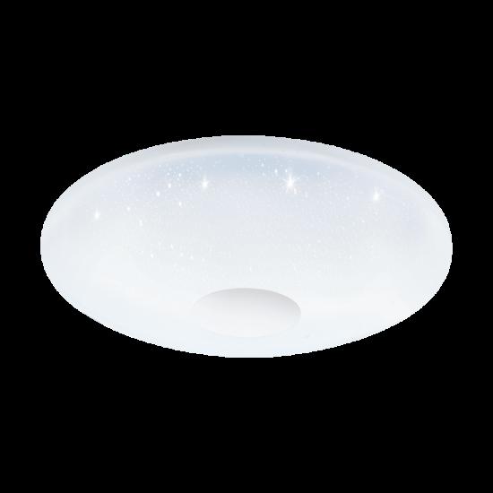 LED-es Mennyezeti lámpa 17W acél fehér BLE RGB 38cm VOLTAGO-C - Eglo - 96684
