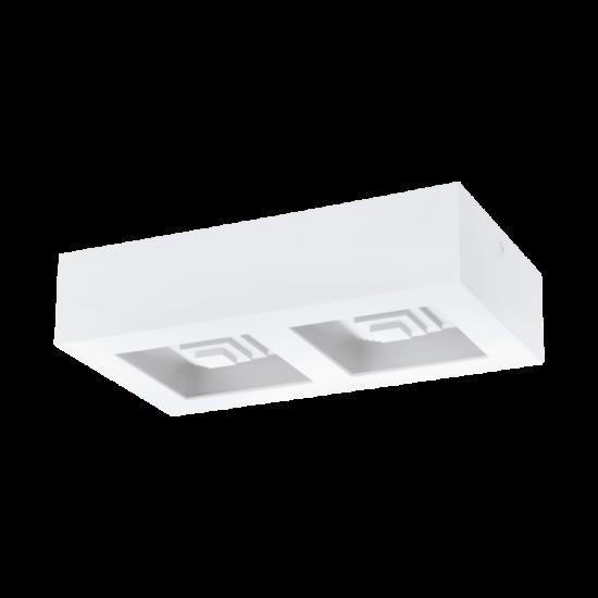 LED-es Fali- Mennyezeti lámpa 2X6,3W acél fehér FERREROS - Eglo - 96792