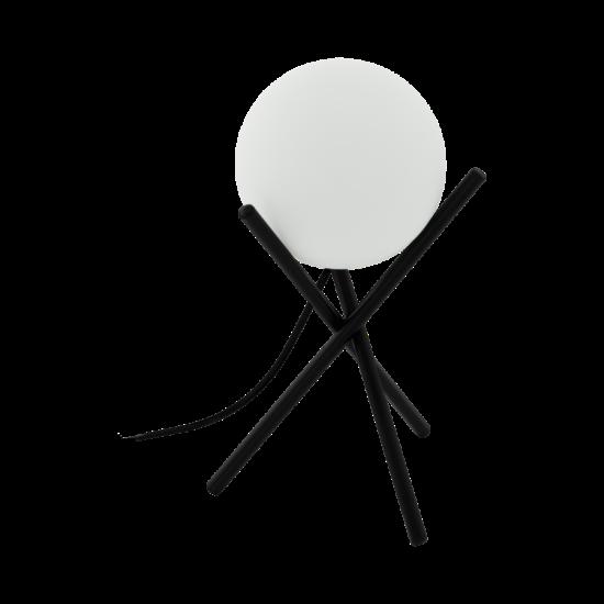 Asztali lámpa E14-es max.1x28W fekete-fehér 330mmX210mm - CASTELLATO - Eglo - 97333
