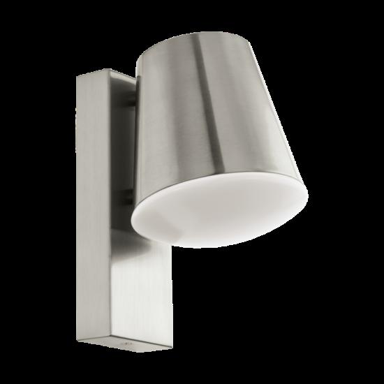 Kültéri E27-es fali lámpa 1X9W nemesacél/fehér - CALDIERO-C - Connect Eglo - 97484