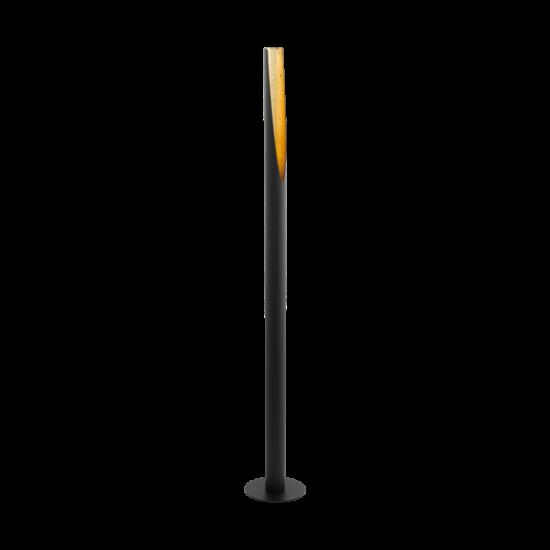 Állólámpa LED GU10 1x5W fekete, arany 1370mmX60mm - BARBOTTO - Eglo - 97584