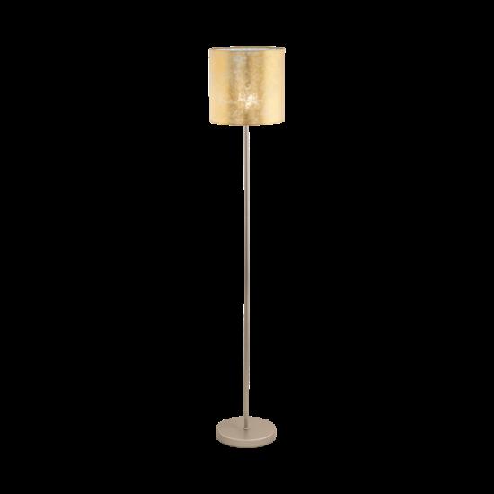 Állólámpa E27-es max.1x60W pezsgőszínű-arany 1585mmX280mm - VISERBELLA - Eglo - 97647