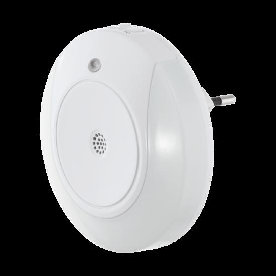 Éjszakai világítás LED-es 2x0,4W fehér 90mmX70mmX90mm - TINEO - Eglo - 97934