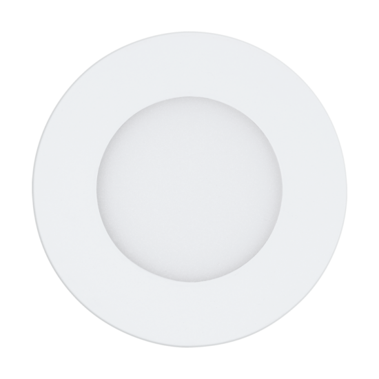 LED-es beépíthető lámpa 5W 2700-6500K 700lm 12cm fehér távirányítóval, szabályozható Fueva-A - Eglo Access - 98212