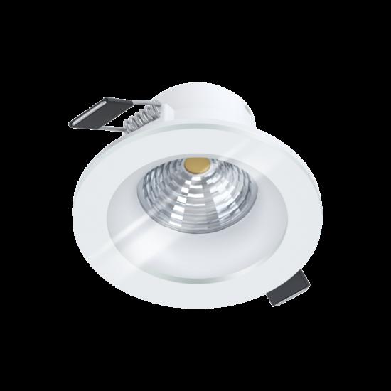 LED-es beépíthető lámpa 6W 2700K 380lm 8,8cm fehér Salabate - Eglo - 98238