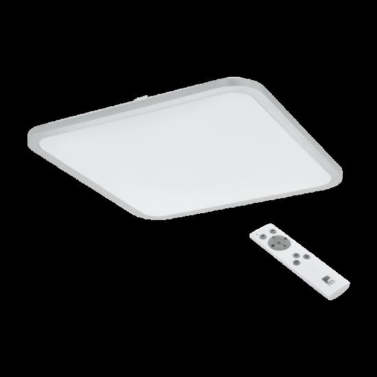 LED-es fali/mennyezeti lámpa 30W 3000-5000K 3200lm 49x49cm színhőmérséklet szabályzós, távirányítóval fehér Cogoleto - Eglo - 98258