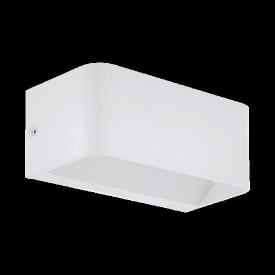 LED-es fali lámpa 10W 3000K 1100lm fehér Sania 4 - Eglo - 98422