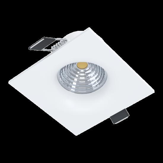 LED-es beépíthető lámpa 6W 2700K 380lm 8,8cm fix fehér SALICETO - Eglo - 98471