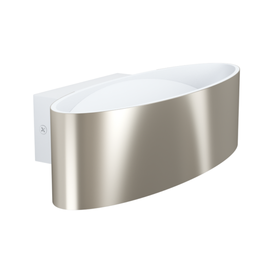 LED-es fali lámpa 10W 3000K 1100lm matt nikkel/fehér Maccacari - Eglo - 98543
