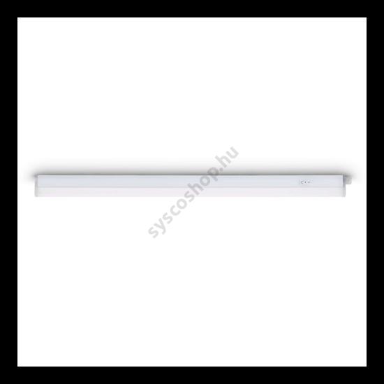 Szekrény peremébe építhető világítás LED 4000K armature fehér 1x9W 230 Linear - Consumer Philips - 85088/31/16