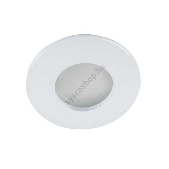 Lámpatest álmennyezetbe illeszhető MR16 IP44 QULES fix fehér AC O-W Kanlux - 26303