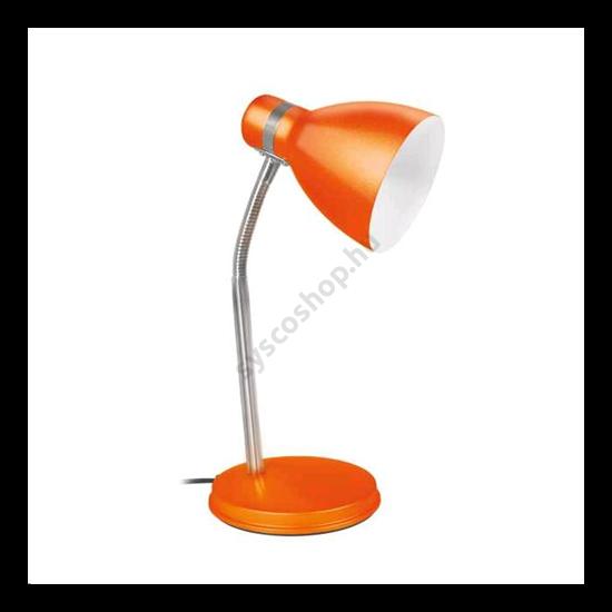 Lámpatest asztali lámpa, E14, ZARA narancs Kanlux - 7563