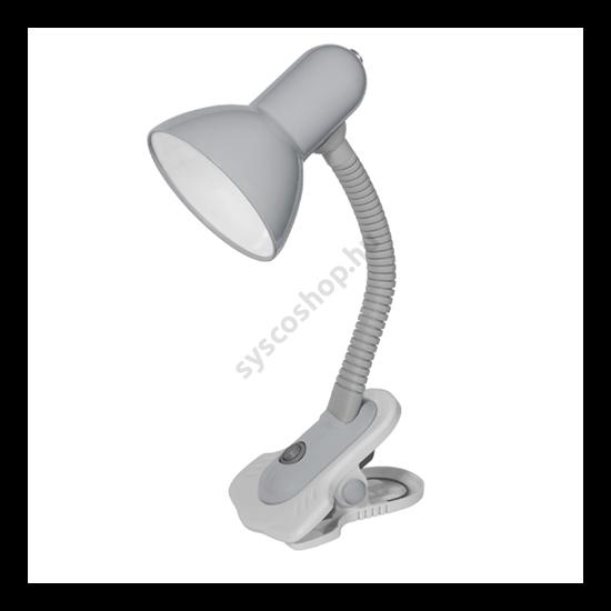 Lámpatest asztali lámpa, csíptetős, E27, SUZI ezüst Kanlux - 7150