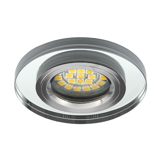 Lámpatest álmennyezetbe illeszhető MR16 keret MORTA fix ezüst CT-DSO50 Kanlux - 19442