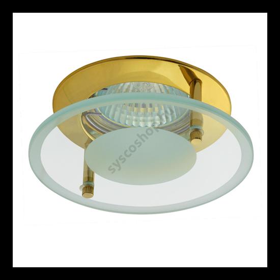 Lámpatest álmennyezetbe illeszhető MR16 keret DINO fix arany CTX-DS02G Kanlux - 2575