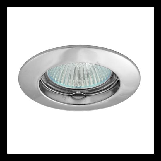 Lámpatest álmennyezetbe illeszhető alu MR16 keret VIDI fix króm CTC-5514 Kanlux - 2791