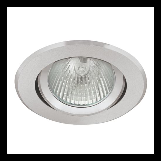 Lámpatest álmennyezetbe illeszhető alu MR16 keret RADAN billenő alu CT-DTO50 Kanlux - 7360