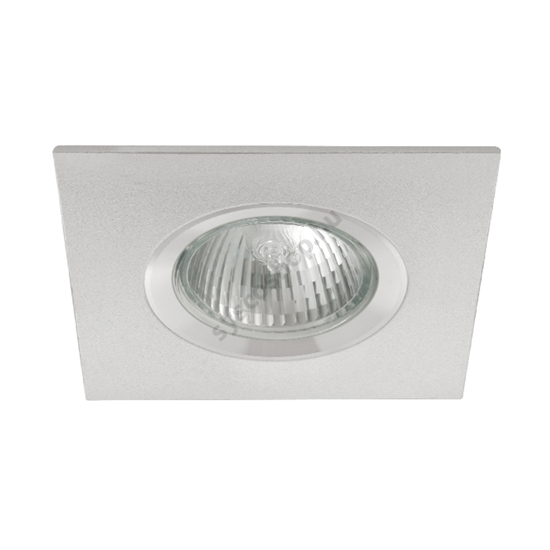 Lámpatest álmennyezetbe illeszhető alu MR16 keret RADAN fix alu CT-DSL50 Kanlux - 7363