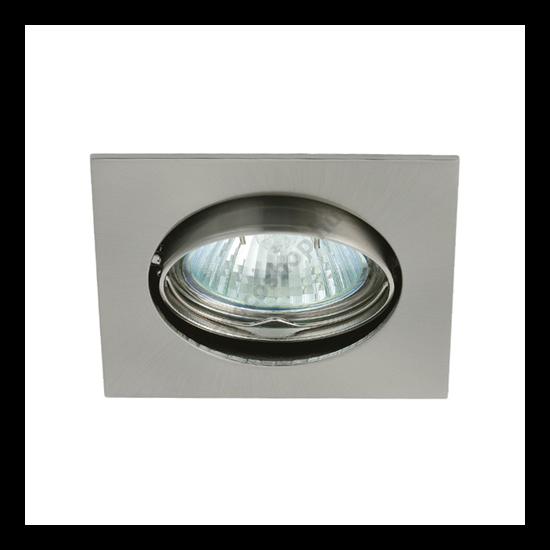 Lámpatest álmennyezetbe illeszhető alu MR16 keret NAVI billenő matt króm CTX-DT10 Kanlux - 2553