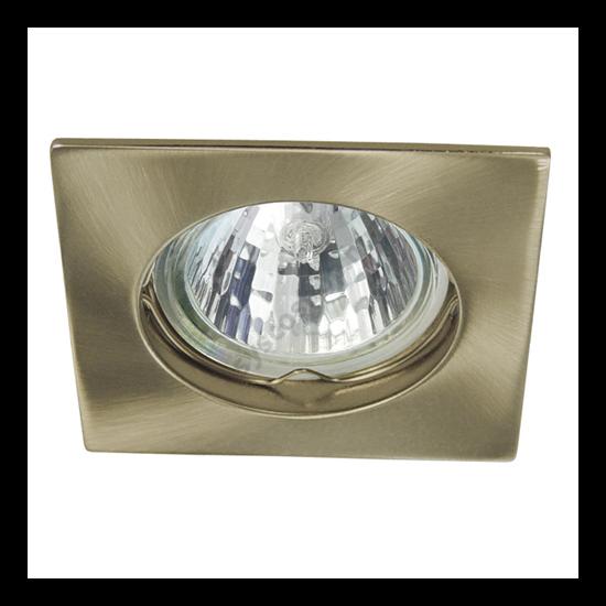 Lámpatest álmennyezetbe illeszhető alu MR16 keret NAVI fix patinált réz CTX-DS10 Kanlux - 4693