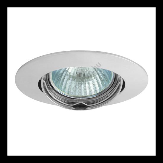 Lámpatest álmennyezetbe illeszhető alu MR16 keret LUTO billenő króm CTX-DS02B Kanlux - 2591