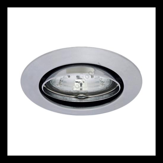 Lámpatest álmennyezetbe illeszhető alu MR11 keret CEL billenő matt króm CTC-5519 Kanlux - 2755