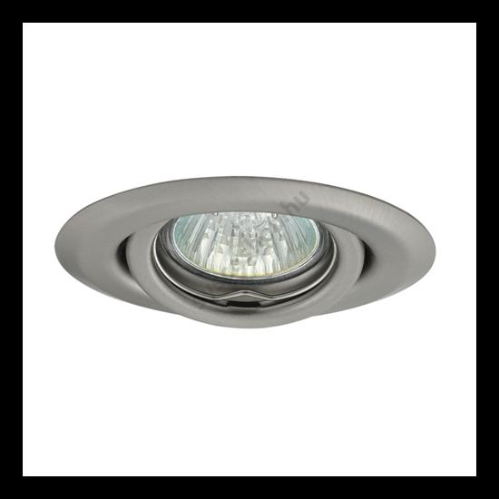 Lámpatest álmennyezetbe illeszhető MR11 keret ULKE billenő matt króm CTC-2119 Kanlux - 349