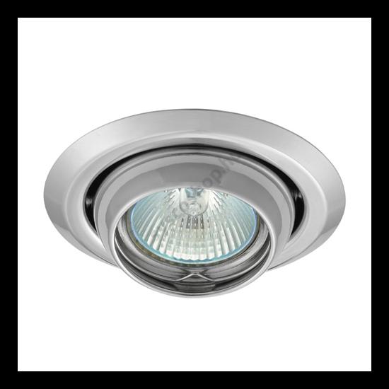 Lámpatest álmennyezetbe illeszhető MR16 keret ARGUS békaszemes króm CT-2117 Kanlux - 309
