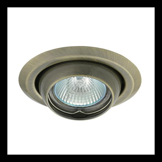 Lámpatest álmennyezetbe illeszhető MR16 keret ARGUS békaszemes matt réz CT-2117 Kanlux - 336