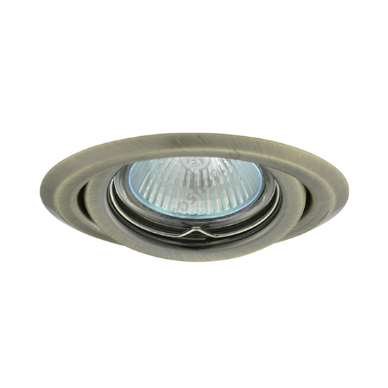 Lámpatest álmennyezetbe illeszhető MR16 keret ARGUS billenő matt réz CT-2115 Kanlux - 330