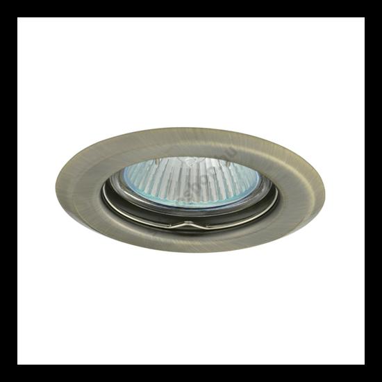 Lámpatest álmennyezetbe illeszhető MR16 keret ARGUS fix matt réz CT-2114 Kanlux - 324
