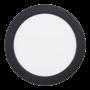 Kép 1/2 - LED-es beépíthető lámpa 10,8W 16,6cm 4000K 1350lm fekete Fueva 5 - Eglo - 99158
