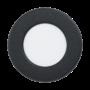 Kép 1/2 - LED-es beépíthető lámpa 2,7W 8,6cm 3000K 300lm IP44 fekete Fueva 5 - Eglo - 99211