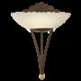 Kép 1/2 - Fali lámpa 1x60W E27 30x33,5cm antik barna/dekor Mestre EGLO - 86715