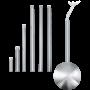 Kép 1/2 - Kihúzható kábelcsatorna 30cm-1,5m króm Extention - EGLO - 88968