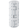 Kép 1/2 - Asztali lámpa E27 1x60W fehér/króm dekor Bayman EGLO - 91971